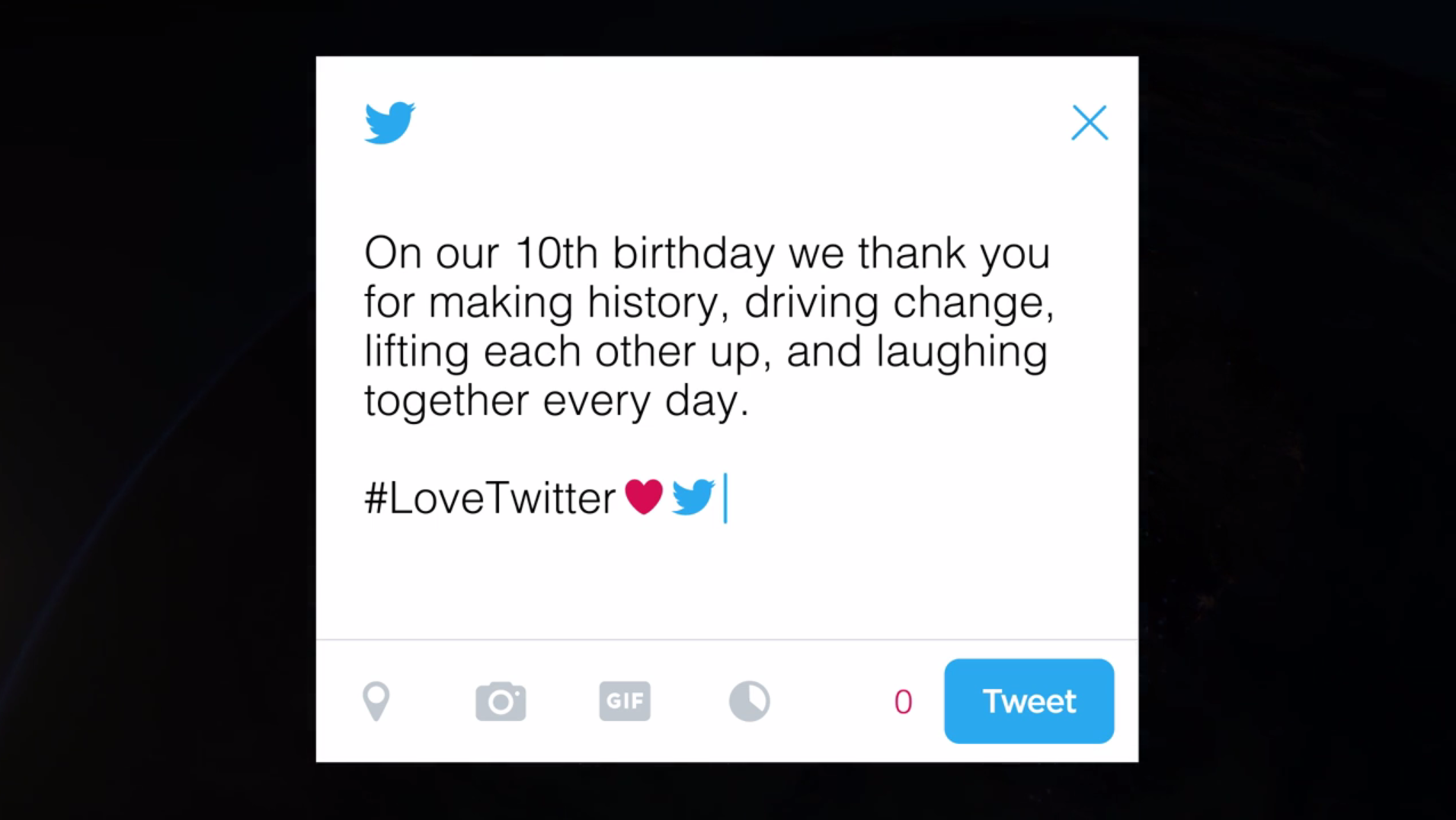 Happy Birthday Twitter! (Or should we say #HappyBirthdayTwitter?)   #DMWF World Series
